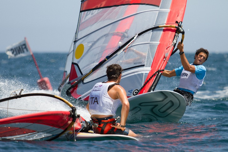 Yael Paz: his opponent was devastated | Photo: Neuza Aires Pereira/ISAF Youth Worlds