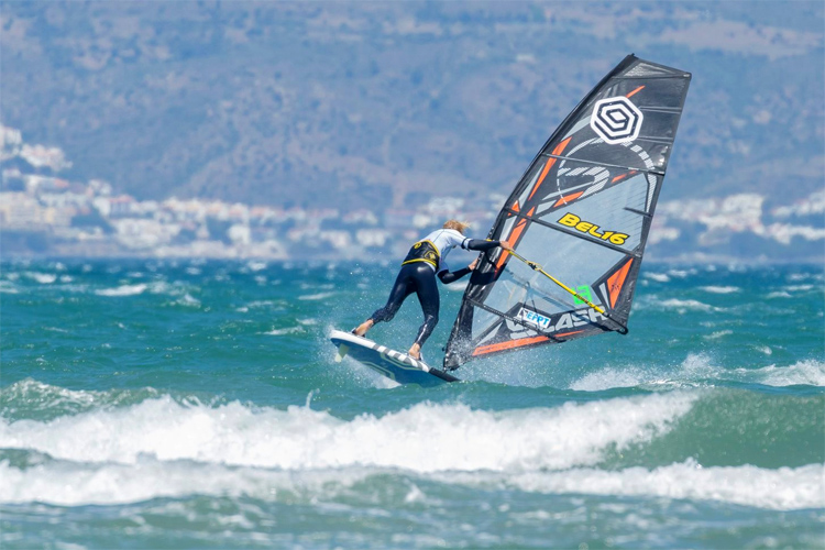 Yentel Caers: he stormed Costa Brava | Photo: EFPT