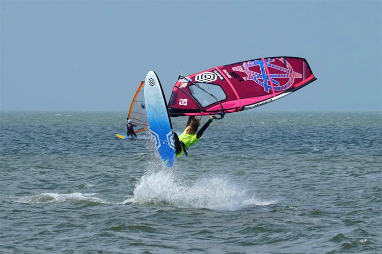 Youp Schmit: the Dutch won the freestyle division at the 2018 OBX Wind