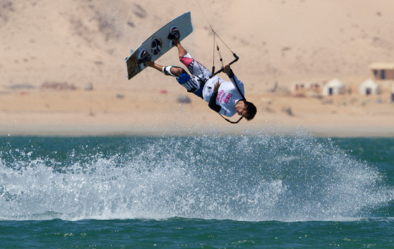 Youri Zoon: making his blood run in Dakhla