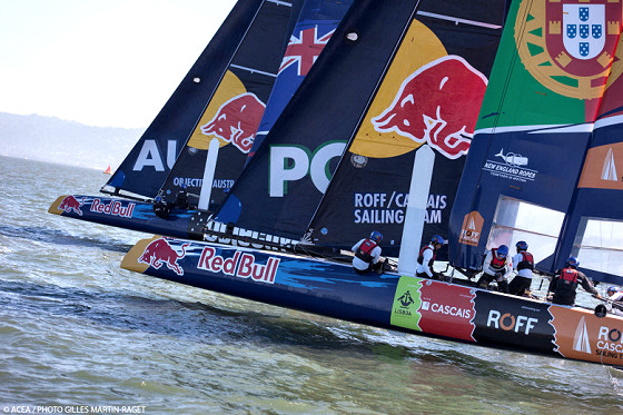 Red Bull Youth America's Cup 2013: New Zealand and Portugal race for glory