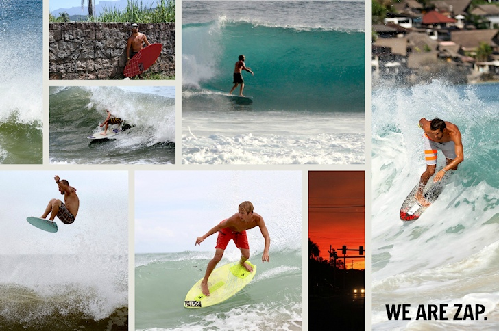 Zap Skimboards 2015: new year, new boards