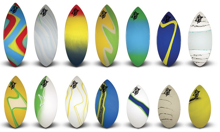 The Wedge: the most popular beginner skimboard by Zap