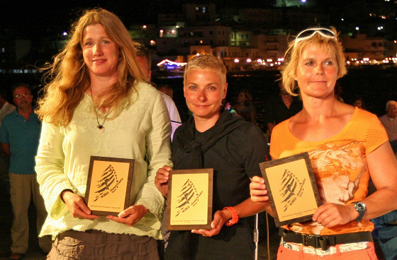 Zara Davis victorious in the Greek Speedsailing Open Championships