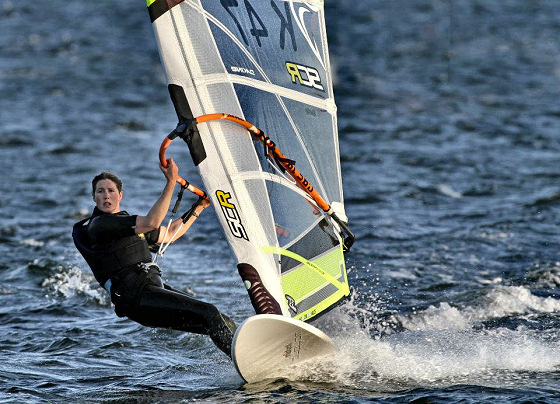 Zara Davis: the speed windsurfing Queen