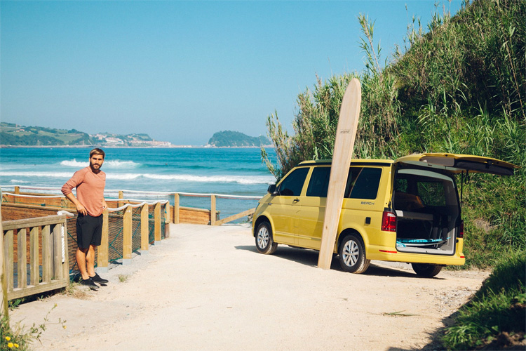 Aritz Aranburu: the local surf star | Photo: Zarautz Pro 4 Teens