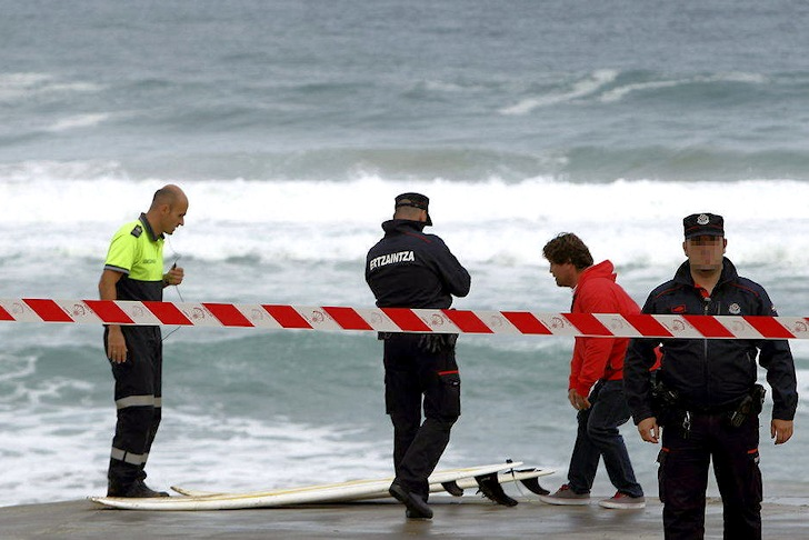 Zarautz: a surf tragedy in the Basque Country | Photo: EFE