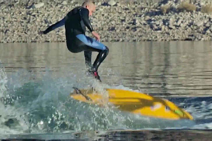 Zoltan Torkos: kicking off a career in wakesurfing