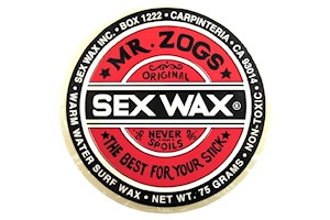 Mr. Zogs Sex Wax Warm Water