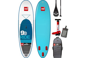 Red Paddle Co 9'8 Ride Inflatable Stand Up Paddle Board