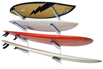 Metal Surfboard Wall Rack