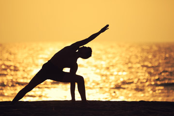 Surf Fitness: train your muscles, meditate, and try yoga | Photo: Shutterstock