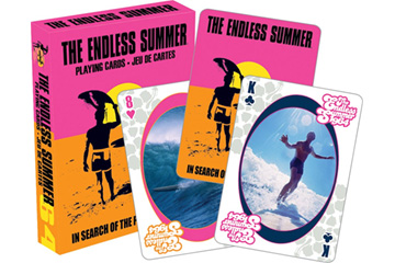 Aquarius The Endless Summer Playing Cards